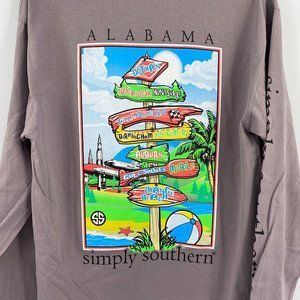 Simply Southern Alabama State long sleeve t'shirt